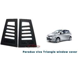 Perodua Viva Side WIndow Triangle Protector