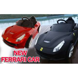 New Ferrari Car