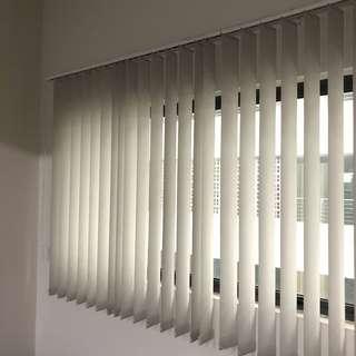 5 Set Vertical Blinds • Office Curtains