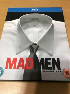 Mad Men Season 1 &2 (blu-ray)