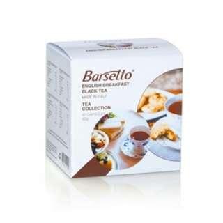 Barsetto English Breakfast tea collection 10 capsules (只有12盒)