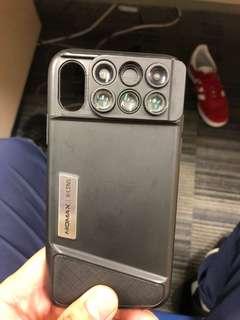 Momax x lens iPhone x case