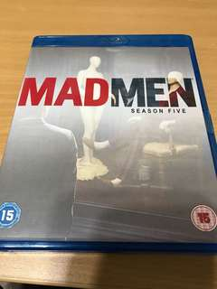 Mad Men season 5 (blu-ray)