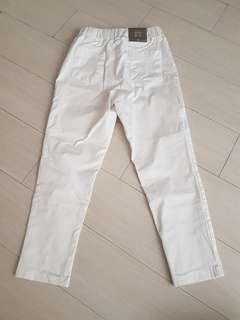White trousers Korea
