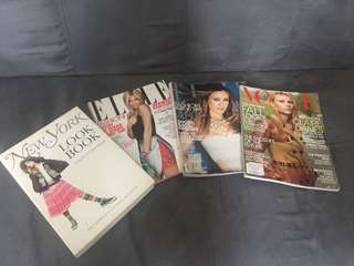 Vogue, Elle, and New York Times coffetable book