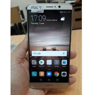 Huawei Mate 9 (64GB) Gold & White, 9.8/10 Phone, Phone Oly