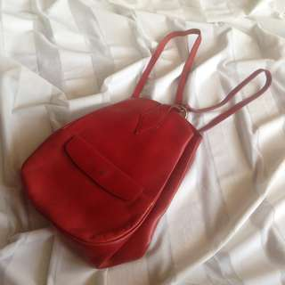 100% Leather Backpack