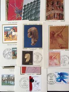 France Assortment 20 Maxicards FDC Stamps All Different(Lot 4)