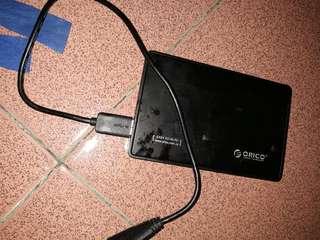 Harddisk external 1TB sentinel 100%