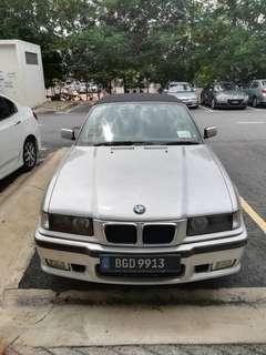 Assalamualaikum smua sye nk jual Kereta bmw : e36  Model : 328i cabriolet  Year.   : 1997 Harga :4**** Condition cantik