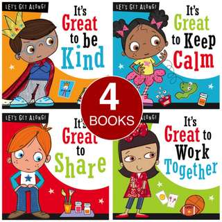 LET'S GET ALONG COLLECTION (4 BOOKS)