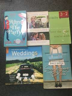 After The Party | Eat Pray Love | Love the one you're with | something Blue | rough guide to weddings