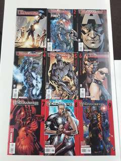 Ultimates (2002 1st Series) Comics Set