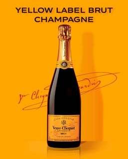 Veuve Clicquot Yellow Label Brut 1箱10支 VCP 香檳 Champange