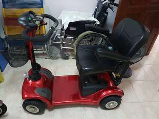 Electric mobility 4 wheel Scooter for Elderly / stroke victims