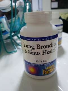 Lung, Bronchial & Sinus Health Tablets