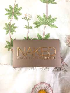 🚚 urban decay naked flushed palette -native