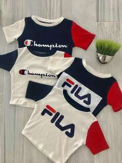 Champion & Fila Croptop