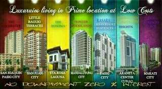 OWN A CONDO UNIT NOW!