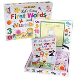 MAGNETIC: LET'S LEARN FIRST WORDS AND NUMBERS