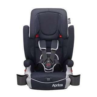 Aprica car seat navy blue
