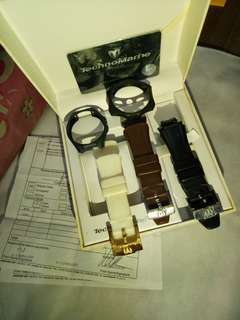 TechnoMarine Straps and Face cover
