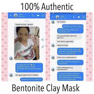 Authentic Indian Healing Clay Mask Bentonite 100g