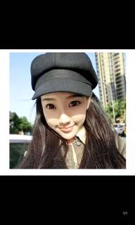 🚚 韓版百搭八角帽子貝雷帽/蓓蕾帽潮帽