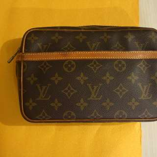 Louis Vuitton Compiegne Clutch Bag Men