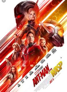 Antman n the wasp poster