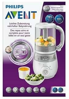 4 in 1 healthy baby food maker