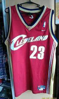 Authentic Lebron James Cavs Nike Jersey 2004