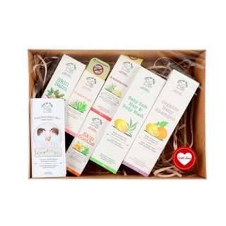 Cherub Rubs Gift Set *Free Drypers Touch S Size Diapers!*