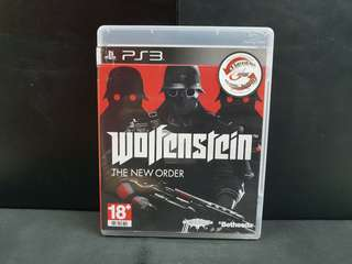 PS3 Wolfenstein The New Order (Used Game)