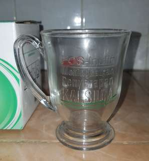 Anlene glass mug