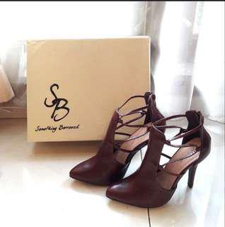 Something borrowed heels sale