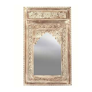 """Balinese Carved Mirror """"Morocco"""" 100 x 60 cm"""