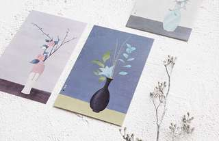(PO) Ikebana Postcards/ Post Cards