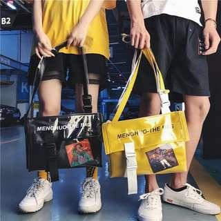 cyber punk sling bag