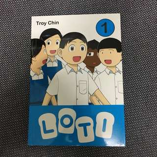LOTI Troy Chin Singapore Comics Book Comic