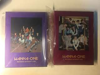 Wanna One Album 旼炫set