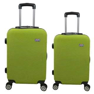 Tas Koper Polo Love - Fiber ABS 1 Set 20 & 24 Inch 801 Green