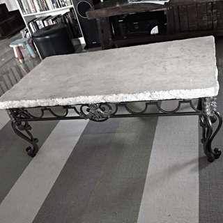 Stone Coffee Table and Side Table