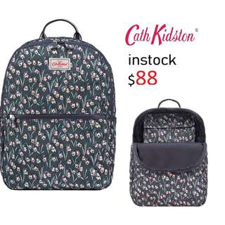READY STOCK authentic new  Cath Kidston CATH KIDSTON FOLDAWAY BACKPACK BLUEBELLS