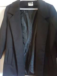 Fantastic Condition All About Eve Black Blazer sz 8