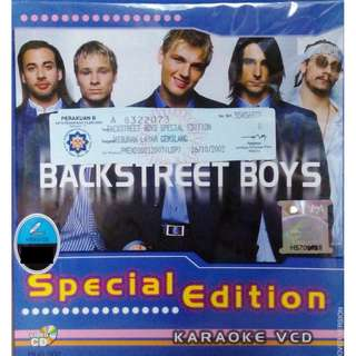 Backstreet Boys Special Edition Karaoke VCD