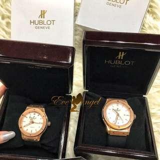 Jam tangan couple HUBLOT bagus Mewah recommended