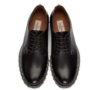 原價>€1000!! Valentino women studs derby shoes 女裝鞋