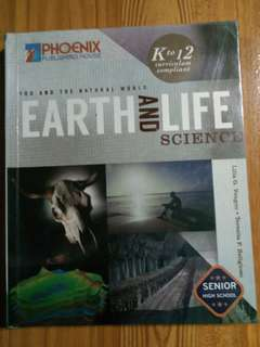 Earth and Life Science Book for SHS