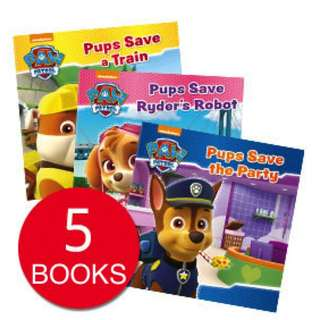 PAW PATROL COLLECTION (5 BOOKS)